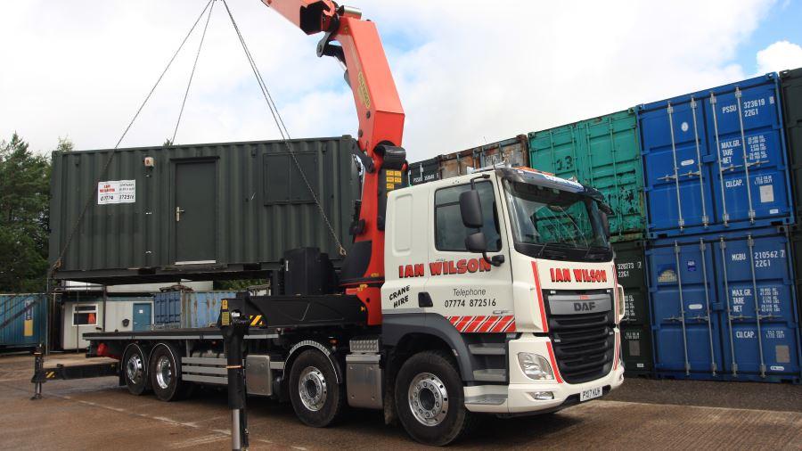 HIAB Flat Bed Truck Hire